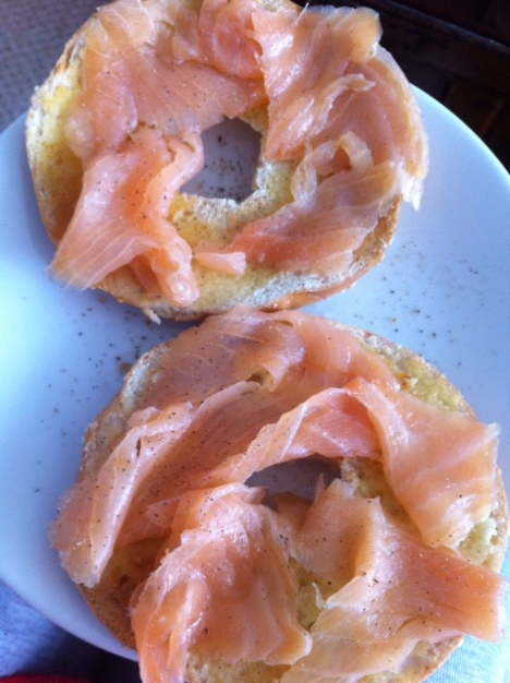 Oak and Applewood Smoked Salmon
